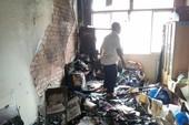 Cháy văn phòng Hội nông dân TP Mỹ Tho