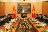Bộ trưởng Quốc phòng Việt-Trung điện đàm trực tiếp
