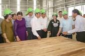 Phó Thủ tướng cắt băng khánh thành nhà máy gỗ 300 triệu USD