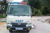 Chồng chết, vợ bị thương sau va chạm với xe CSGT