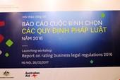 VCCI báo cáo Thủ tướng về các quy định kém