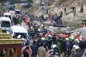 Chùm ảnh toàn cảnh vụ giải cứu 12 công nhân bị sập hầm Đạ Dâng