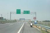 Tịch thu xe máy đi vào đường cao tốc: Không ổn!
