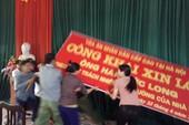 Người nhà nạn nhân phản đối xin lỗi ông Hàn Đức Long