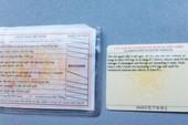 Từ 1-6: Không bắt buộc đổi bằng lái xe sang thẻ PET