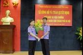 Nhân sự mới thành phố Hà Nội