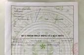 Vụ phê xấu lý lịch: UBND xã đã sửa sai
