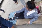 Giải phóng mặt bằng, 1 người dân bị thương
