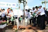 Trồng hơn 110.000 cây xanh tại Bà Rịa-Vũng Tàu