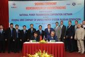 Việt – Nga ký thỏa thuận hợp tác về truyền tải điện
