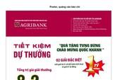 Gửi tiết kiệm, trúng sổ tiết kiệm với Agribank  