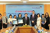 VietinBank nhận hai giải thưởng của JPMorgan Chase Bank