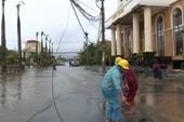 EVN khắc phục sự cố lưới điện ngay sau bão số 10  