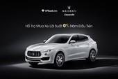 Maserati hợp tác VPBank giúp khách hàng mua xe sang