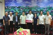 Agribank ủng hộ Quảng Trị khắc phục thiệt hại bão lụt