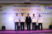 Bế mạc Hội thi Thợ giỏi khối Truyền tải điện năm 2017