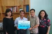 SASCO trao tặng người dân vùng bão Nha Trang 100 triệu