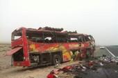 Xe buýt lật: 22 người thiệt mạng, 38 người bị thương