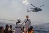 Tàu chở 600 người gặp nạn, hàng trăm người mất tích