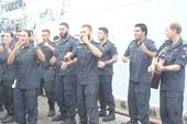 Cận cảnh tàu hộ vệ tên lửa Hoàng gia New Zealand