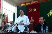 Clip: Chủ tịch Nguyễn Đức Chung nói gì với dân Đồng Tâm