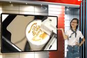 In ảnh lên trà sữa,trào lưu khiến giới trẻ 'phát cuồng'