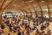 Trường quốc tế đặc biệt làm bằng tre ở Thái Lan