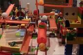 Đã mắt với hệ thống Rube Goldberg cực kỳ phức tạp