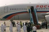 Chuyên cơ chở Tổng thống Putin đã đáp xuống Đà Nẵng