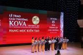 Y tế TP.HCM ôm trọn giải Kiến tạo giải thưởng KOVA 2017