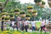 Hội hoa xuân Phú Mỹ Hưng: 'Xuân no ấm'