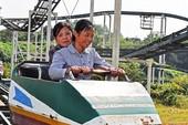 Hình ảnh hiếm hoi trong công viên giải trí ở Triều Tiên