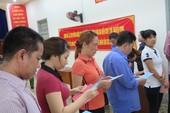 Lần đầu tiên 2.000 can phạm trại Chí Hòa xúc động đi bầu cử
