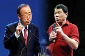 Ông Duterte 'không thèm' gặp Tổng Thư ký Liên Hợp Quốc