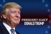Chính thức: Thắng áp đảo, Trump thành tổng thống Mỹ!