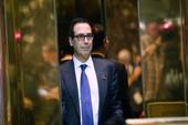 Tỉ phú phố Wall làm bộ trưởng Tài chính cho ông Trump