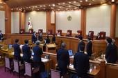 Tòa án Hiến pháp tiếp tục luận tội Tổng thống Park  