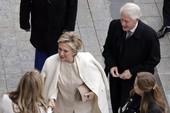 Clip: Vợ chồng Clinton đến dự lễ nhậm chức của Trump