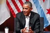 Ông Obama tái xuất, không đả động gì ông Trump