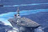 Tàu Nhật đưa quan chức quân đội ASEAN thị sát biển Đông
