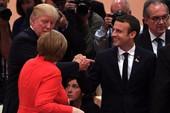 Tại G20, ông Trump trả đũa cái bắt tay ông Macron
