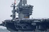 Siêu tàu sân bay Mỹ tập trận lớn ở vịnh Bengan