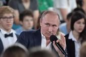 Ông Putin ám chỉ có thể làm tổng thống hết đời