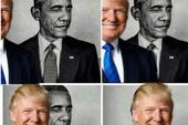 Ông Trump đưa ảnh chế 'ăn mặt' ông Obama
