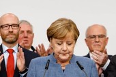 Bà Merkel thắng bất chấp 'cơn địa chấn' cực hữu