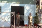 Tự nguyện tháo dỡ trụ sở khu phố trả vỉa hè cho dân
