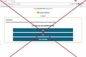 Cảnh giác trang web lừa tặng vé máy bay miễn phí
