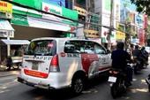 Vinasun tháo ngay khẩu hiệu phản đối Grab, Uber
