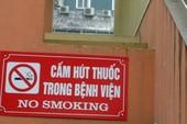 Phạt 13 đơn vị vi phạm quy định về cấm hút thuốc lá