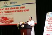 465 thầy thuốc đăng ký hiến tạng cứu người bệnh